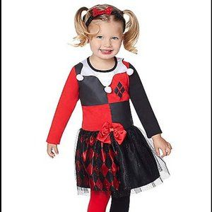 Harley Quinn Toddler Halloween Costume